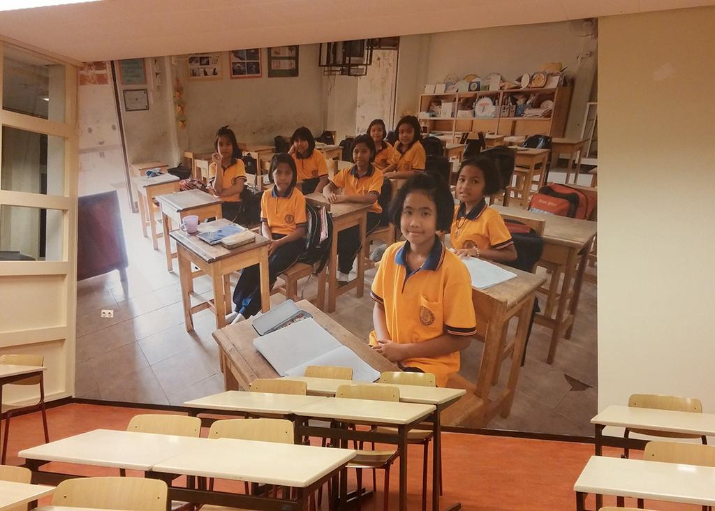 Fotowand_school