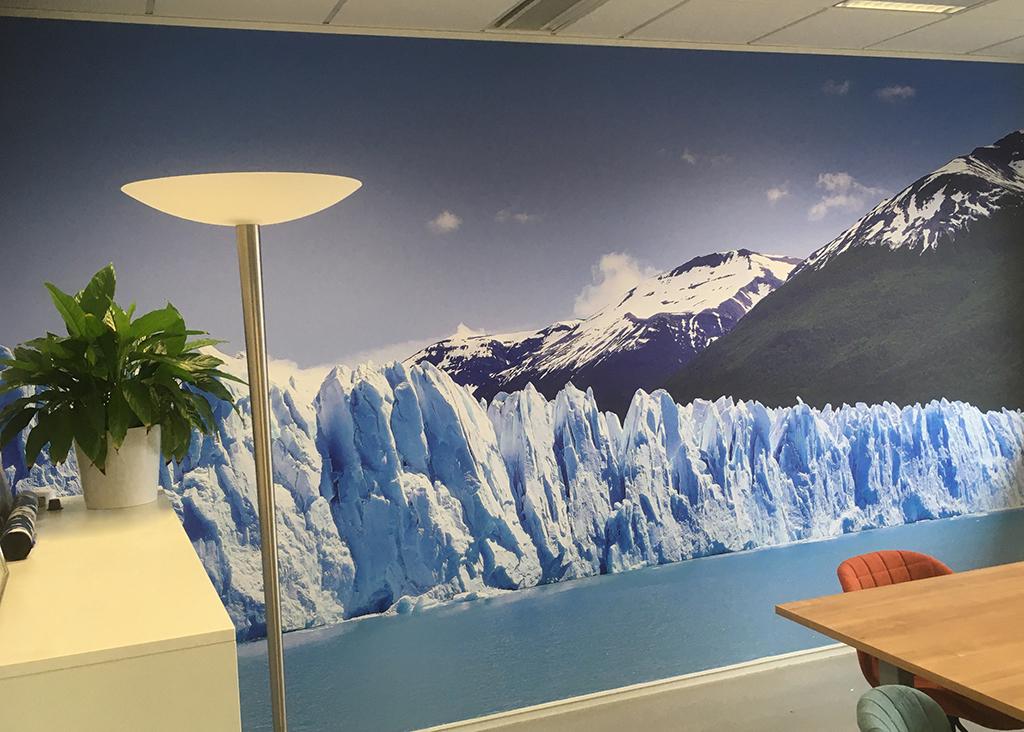 Fotowand ijsberg