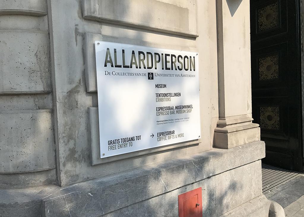 Bord Allard Pierson museum